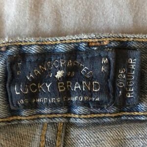 Lucky Brand jeans. Barely worn, comfortable